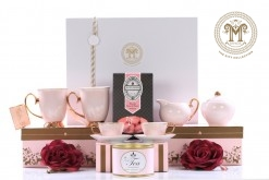 Cristina Re Pink Polka High Tea Set