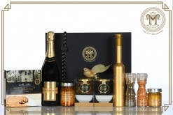 "Luxe ""LIMITED EDITION"" Gold Gourmet Truffle Gift Hamper"