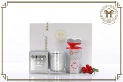 Saint George Agio Candle (Saint)  Chocolate Assortment Gift Hamper
