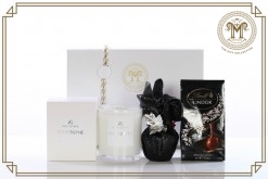 Saint George Androgyne For Men Candle  Pudding Pack Gift Hamper