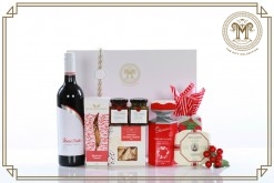 Wild Oats Red & White Cab merlot Christmas Gift Hamper