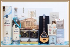 Bouzouki, POuzo & Tavli Night Under The Acropolis Gift Hamper