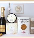 Champagne Bears & Cream Brulee Hamper