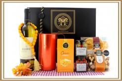 GREEK WINE AND CARAFE GIFT HAMPER