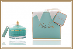 Cote Noire Tiffany Blue Art Deco Luxury Candle