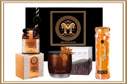 Scented Orange Christmas Gift Hamper