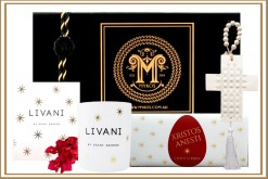 Xristos Anesti Gold Star Saint George Livani Greek Easter Gift Hamper