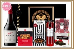 Red And White Port Club Gift Hamper