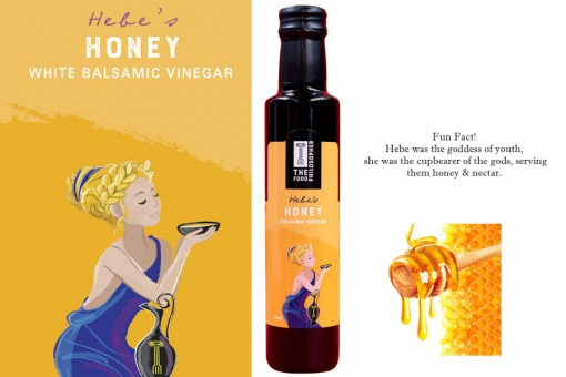 THE FOOD PHILOSIPHER HEBE'S HONEY BALSAMIC VINEGAR