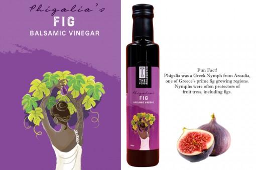 THE FOOD PHILOSIPHER PHIGALIA FIG BALSAMIC VINEGAR
