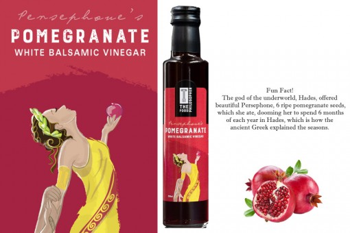 THE FOOD PHILOSOPHER PERSEPHONE'S POMEGRANATE BALSAMIC