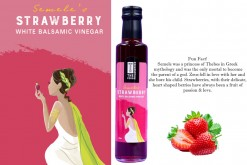 THE FOOD PHILOSOPHER SEMELE'S STRAWBERRY BALSAMIC VINEGAR