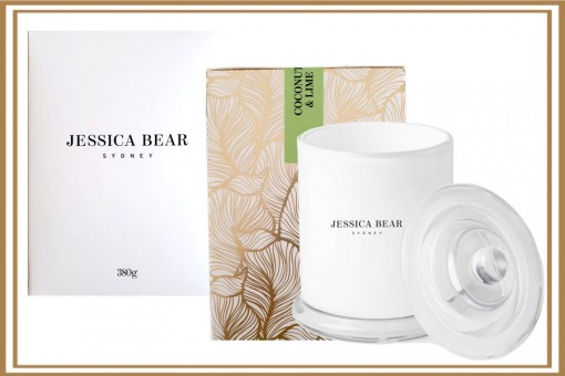 JESSICA BEAR - SYDNEY - COCONUT LIME CANDLE
