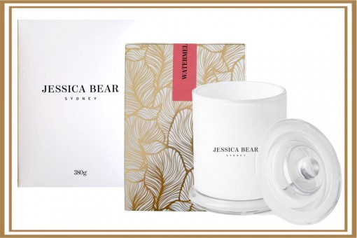 JESSICA BEAR WATERMELON LUXE CANDLE